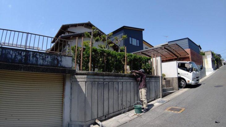 【お客様の声】岡山市北区津高地内|M様邸 目隠しフェンス工事