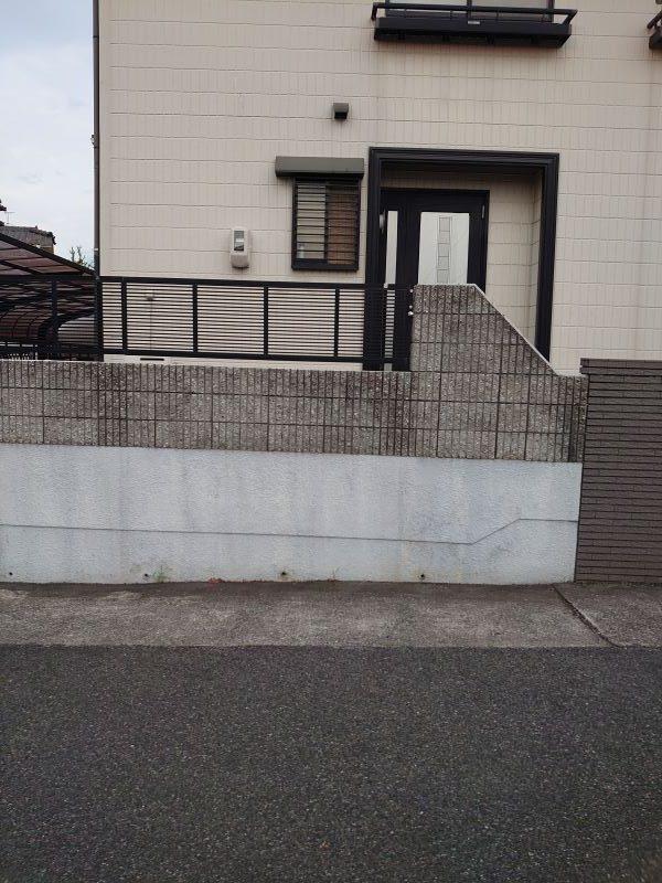 岡山市東区外構リフォーム(フェンス)